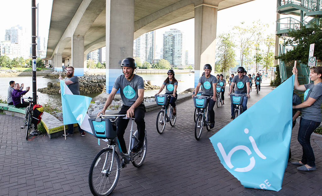 Mobi On Over! Photos From Vancouver's Public Bike Share Launch Event