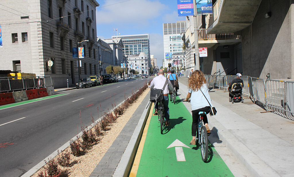 As It Turns Out, Motorists Want Protected Bike Lanes Too