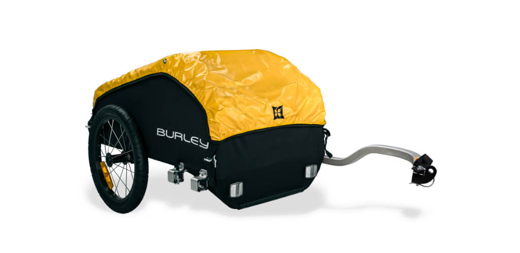 Burley Nomad Bike Touring Trailer Review