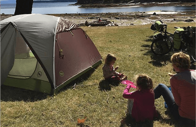 Getting Geared Up for Family Bike Camping