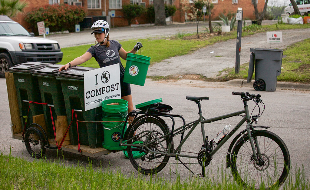 Cyclepreneurs: Compost Pedallers Bike for a Better Food System