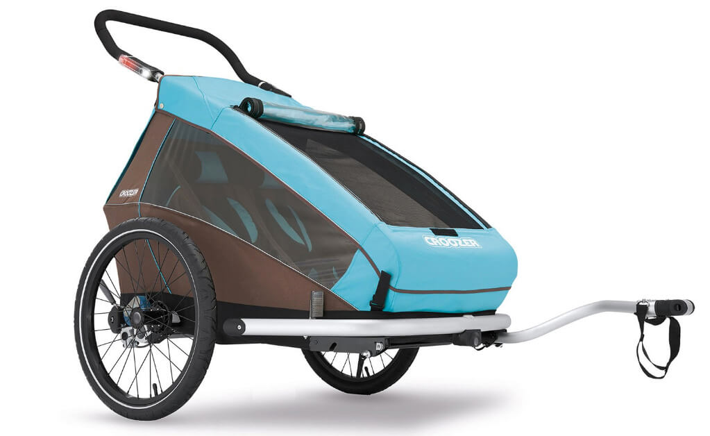 croozer kids' bicycle trailer review