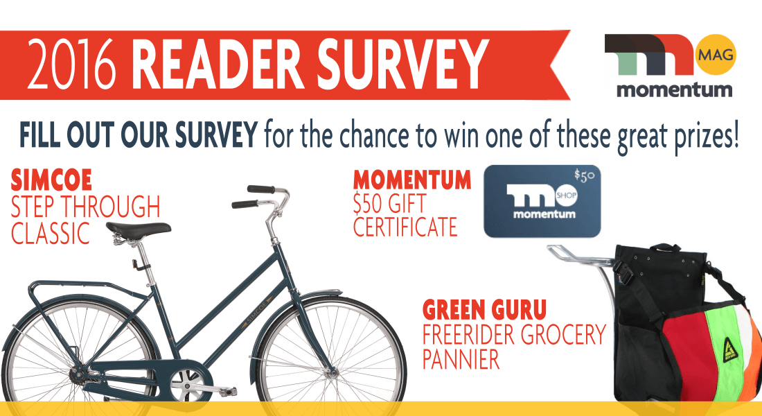 2016 Reader Survey + Win a Bicycle