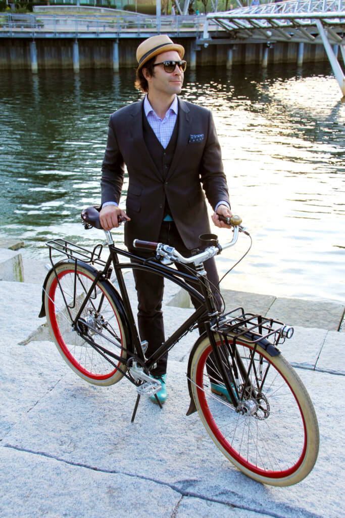 City Bicycle Friendly Style Fashion