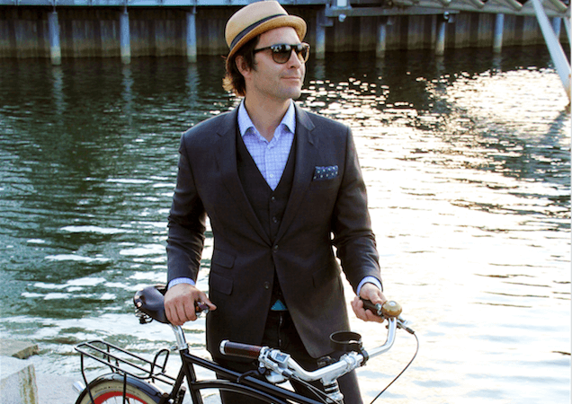 Dapper Bike Style with Paul W. Krueger