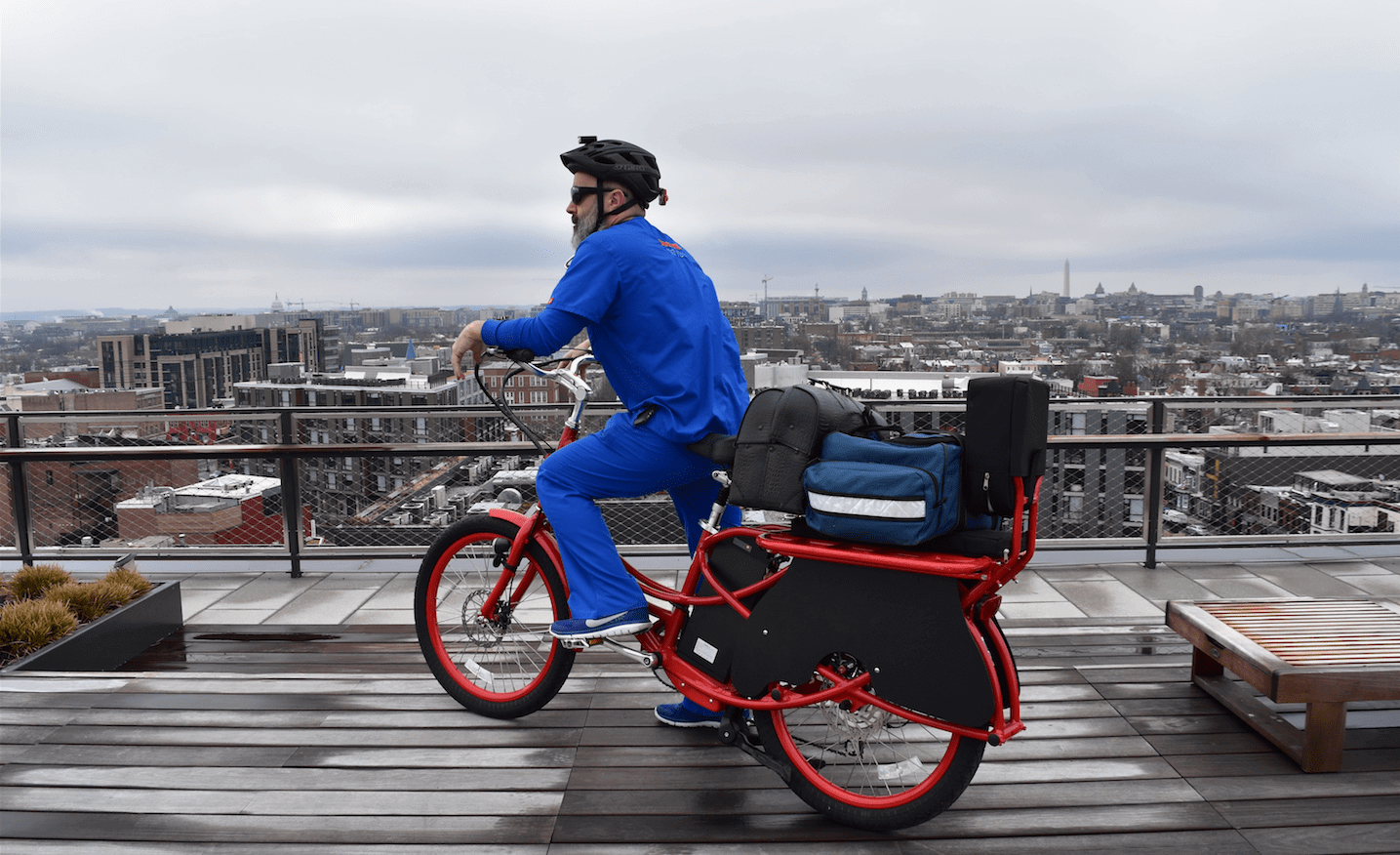 "Cargo Bikes Put a New ""Spin"" on Reaching Patients and Disaster Relief"