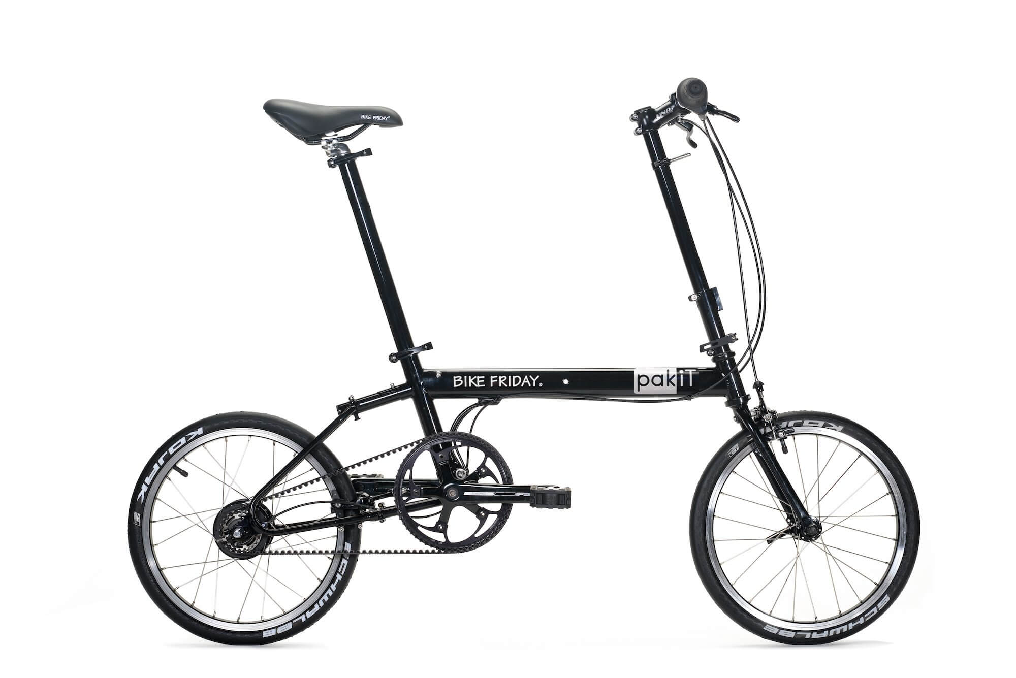 Bike Friday PakiT folding bike with carbon drive
