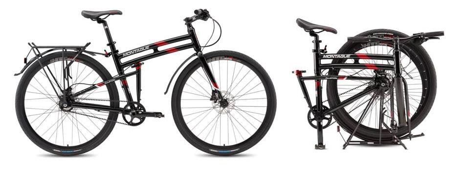 Folding bikes with belt drive