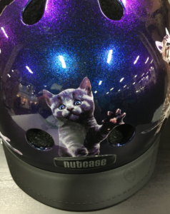 Space Cats Nutcase Helmets