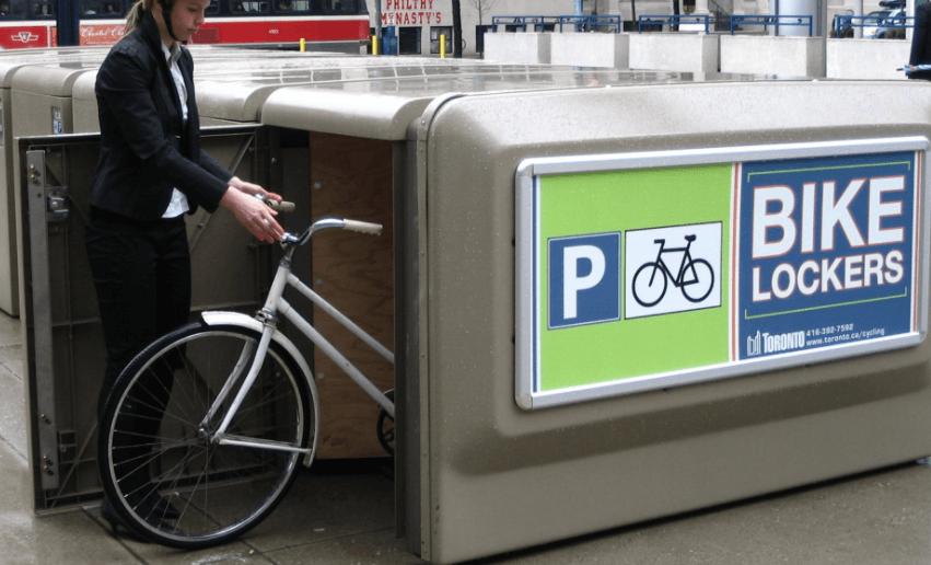 Bike Locker in Toronto
