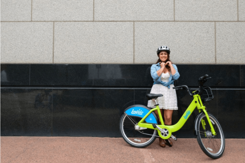 Louisville's LouVelo bike share program