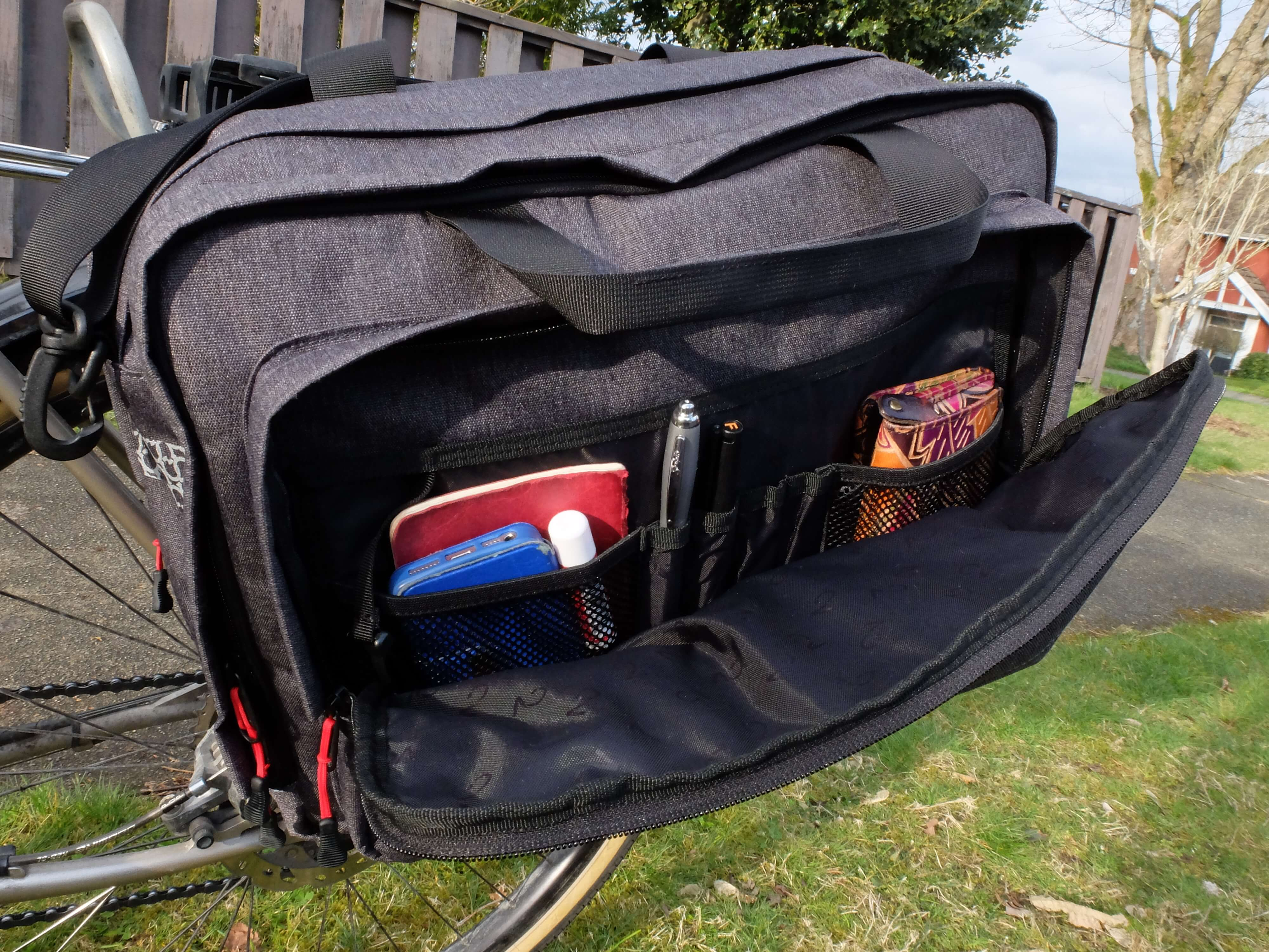 Two Wheel Gear Bicycle Briefcase