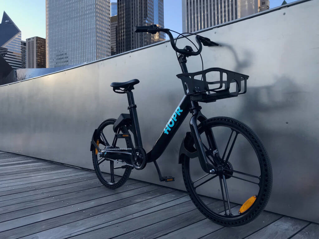 HOPR 1 Dockless Electric Bike Bike Share