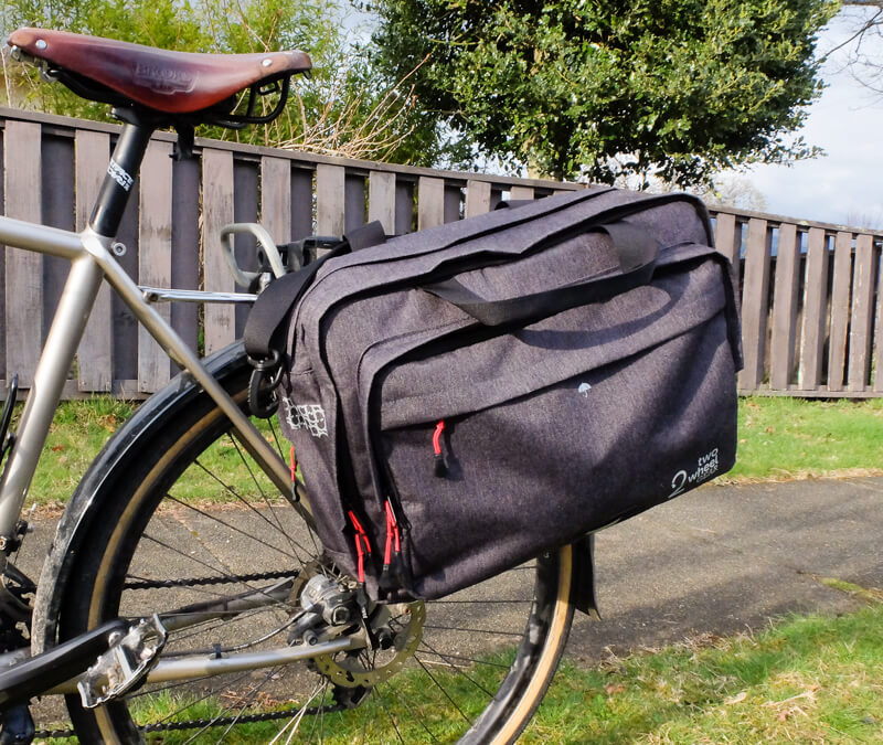 Two Wheel Gear Convertible Bike Briefcase Review