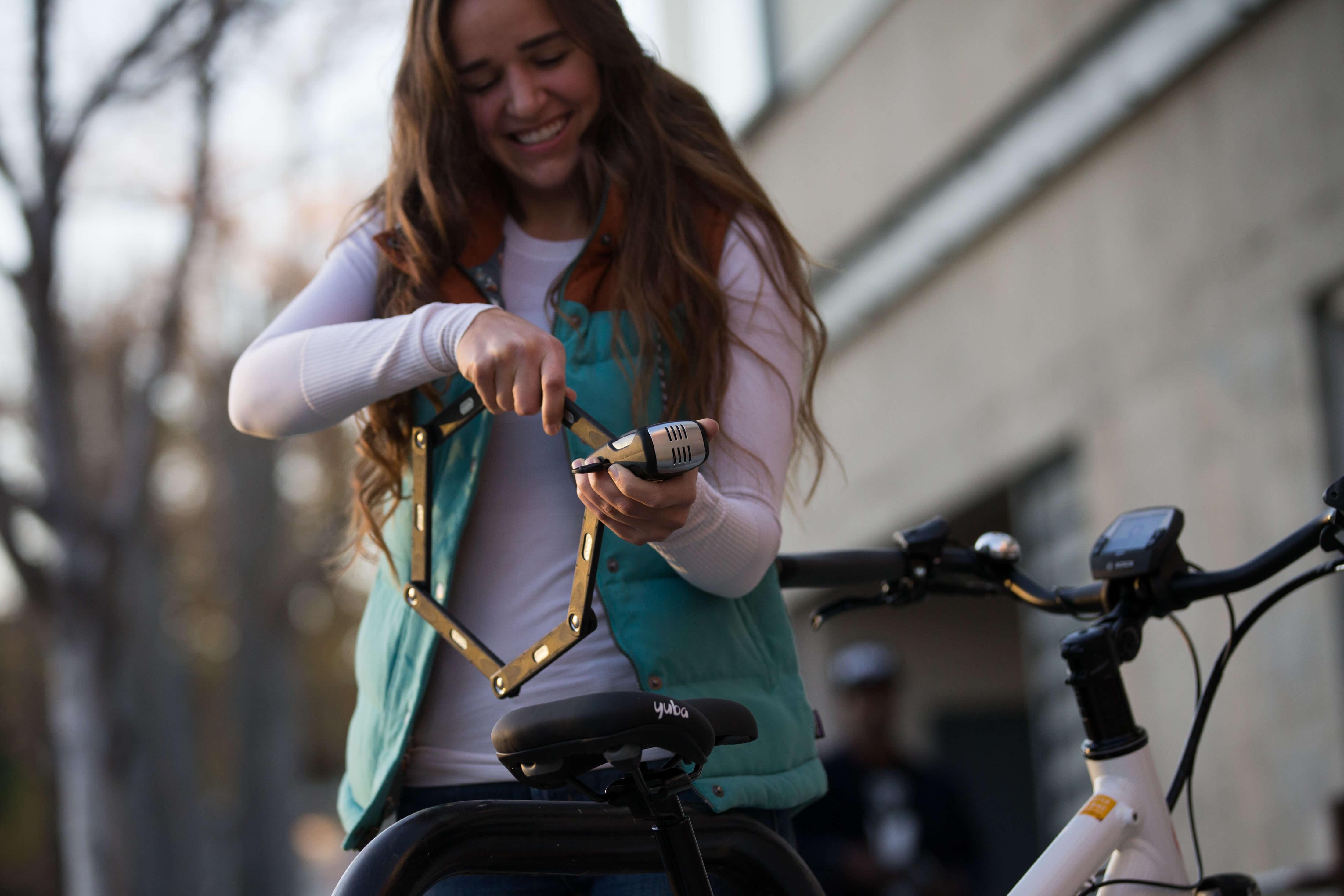 ABUS Takes Security to Next Level With Bordo Alarm Bike Lock