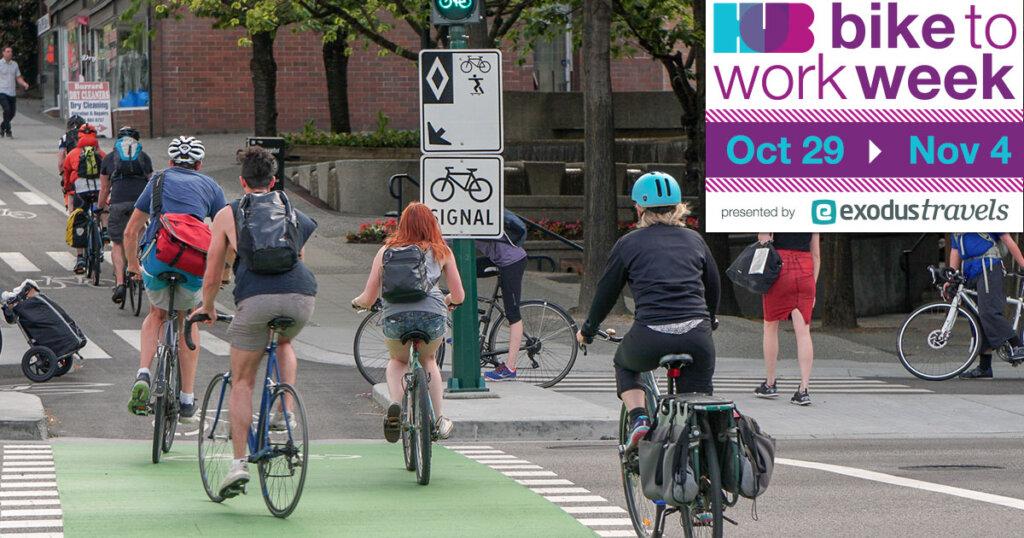 Bike to Work Week Hub Cycling Vancouver