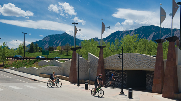 Cycling Three Cities of Colorado's Front Range