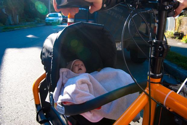 How To Bike With Newborns Momentum Mag