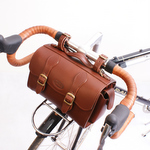 Zimbale Leather Handlebar / Saddle Bag