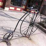 Artistic Bike Racks in Cleveland