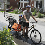 How to Run (Ride) Errands with Kids on Bikes