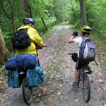 Family Bicycle Travel Starts at Your Front Door