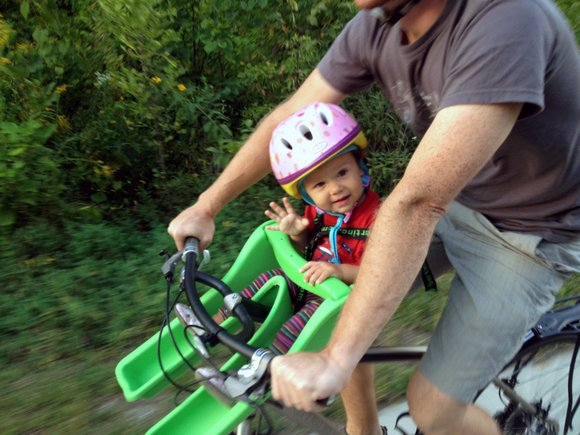 How To Start Biking With Your Baby Momentum Mag