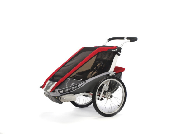 double bike trailer review chariot cougar 2 momentum mag. Black Bedroom Furniture Sets. Home Design Ideas