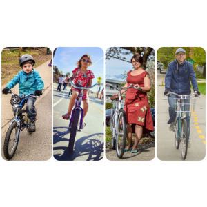 A profile on the Bike Riding Family the Bruntletts