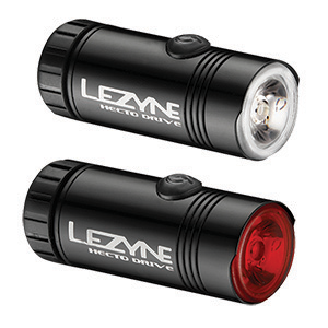 Lezyne Hecto Drive Bike Light Front/ Rear Pair Review