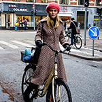 Winter Bike Fashion in Copenhagen