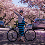 Proud, Pregnant, and Springtime Biking!