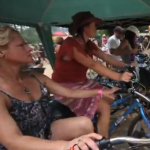 Pedal Power Music at Gaia Festival