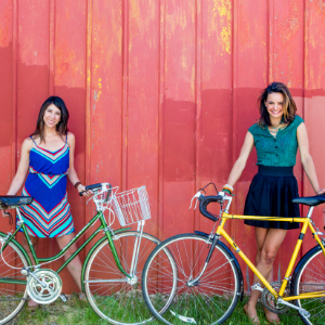 Tanya Dueri and Jeanne Eisenhaure of Bike Stylish