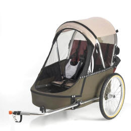 Double Bike Trailer Review Wike Premium Double Momentum Mag